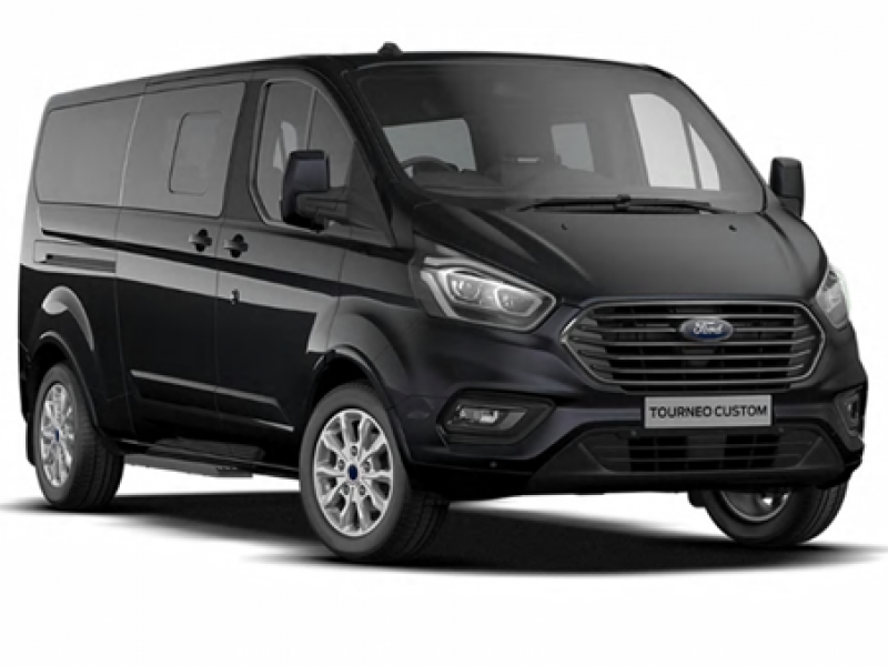 8 seater bus for airport transport